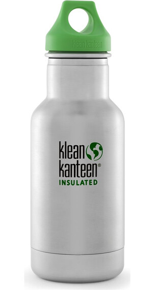 Klean Kanteen Kids Vacuum Insulated 12oz Stainless (354 ml) Brushed Stainless